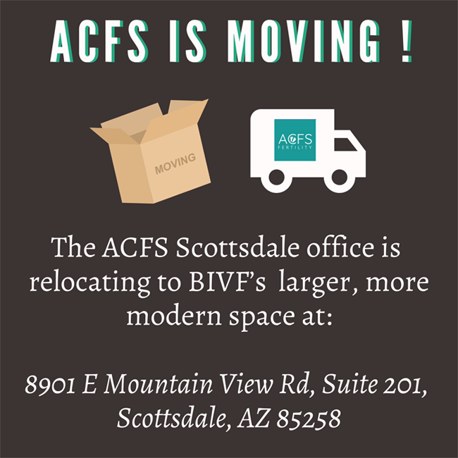 ACFS Is Moving